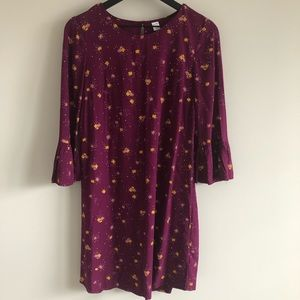 Old Navy Floral Purple Dress